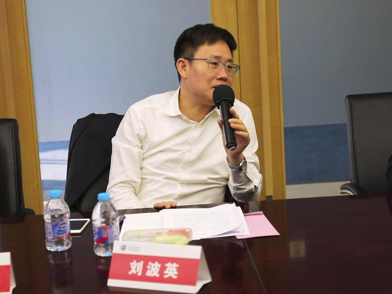 上海市經信委都市產業處處長 劉波英